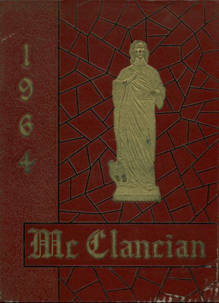 1964 Monsignor McClancy High School Yearbook Cover