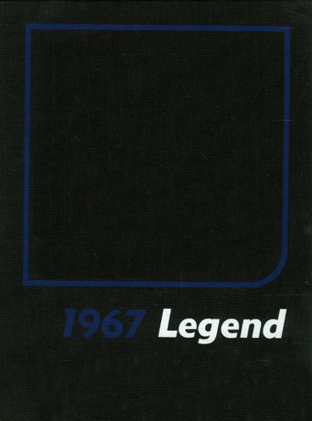 1967 Whetstone High School Yearbook Cover