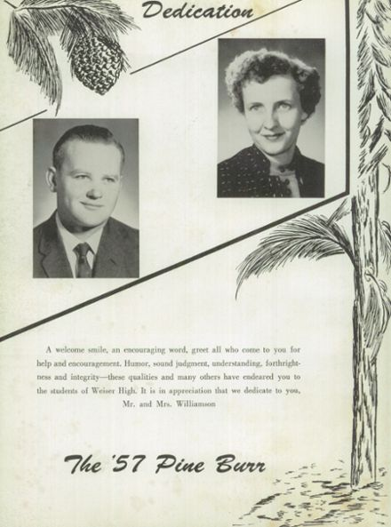 1957 Weiser High School Yearbook Page 6