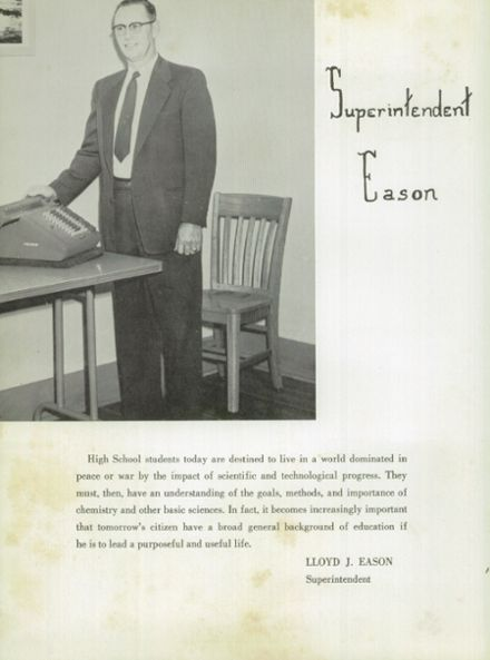 1957 Weiser High School Yearbook Page 8