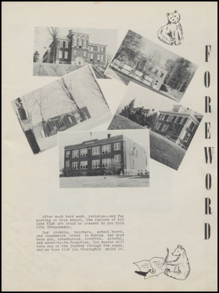 1954 Rib Lake High School Yearbook Page 5