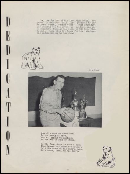 1954 Rib Lake High School Yearbook Page 6