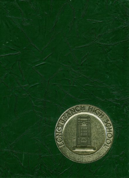 1975 Long Branch High School Yearbook Cover