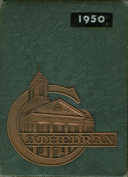 1950 Cathedral High School Yearbook Cover
