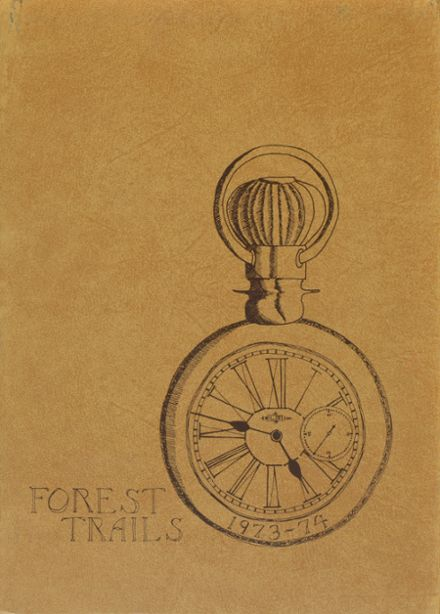1974 Lake Forest High School Yearbook Cover