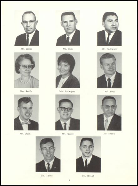 1965 Stratton High School Yearbook Page 9