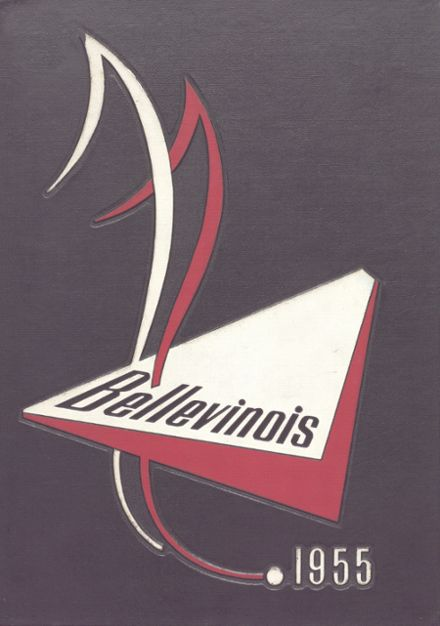 1955 Belleville Township High School Yearbook Cover