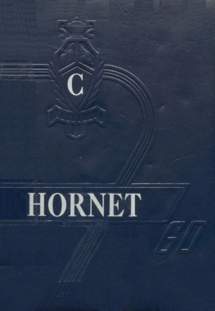1960 Colcord High School Yearbook Cover