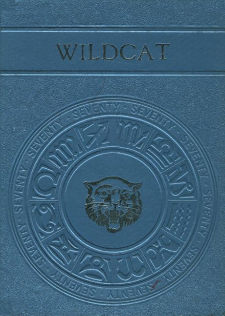 1970 Whitehouse High School Yearbook Cover