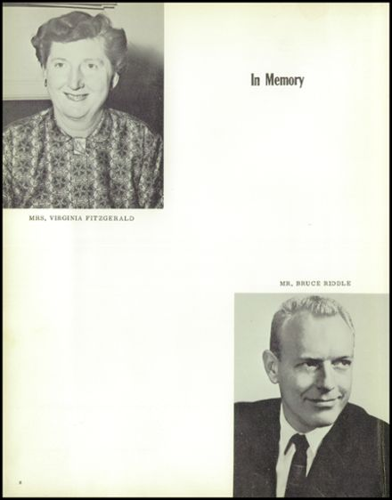 1961 Grant Union High School Yearbook Page 6
