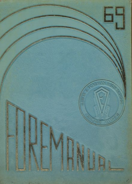 1969 Foreman High School Yearbook Cover