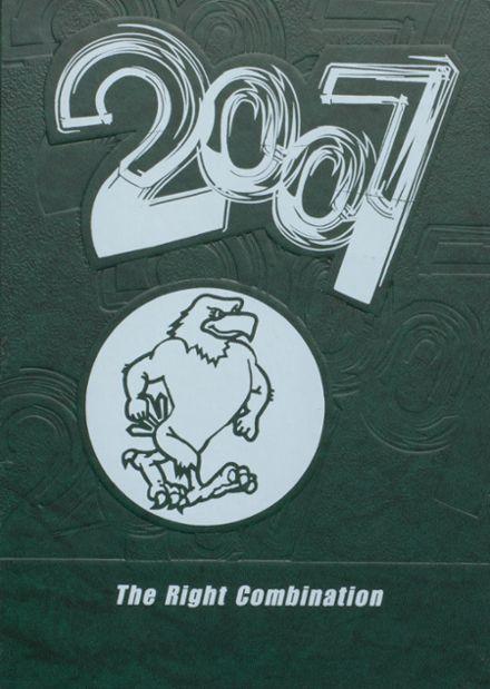 2007 Stratton High School Yearbook Cover
