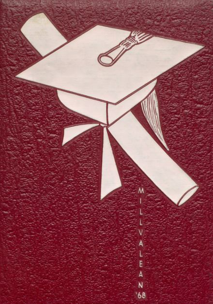 1968 Millvale High School Yearbook Cover