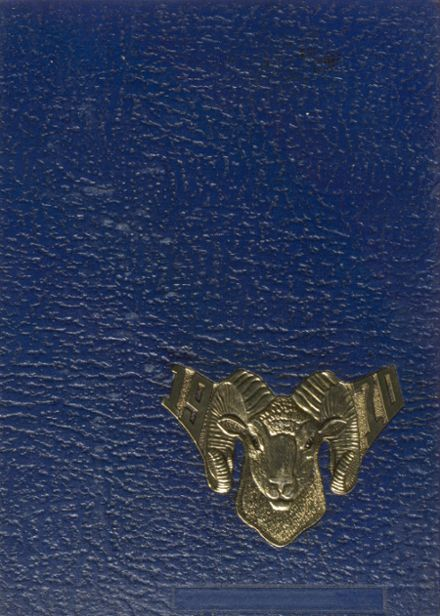 1970 Donora High School Yearbook Cover