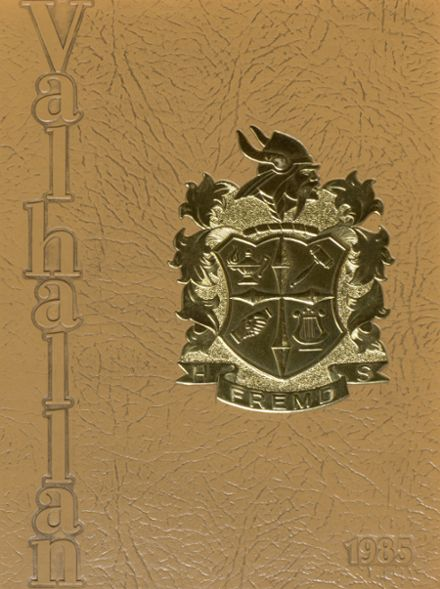 1985 Fremd High School Yearbook Cover