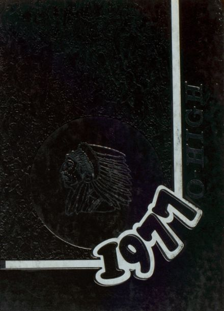 1977 Oberlin High School Yearbook Cover