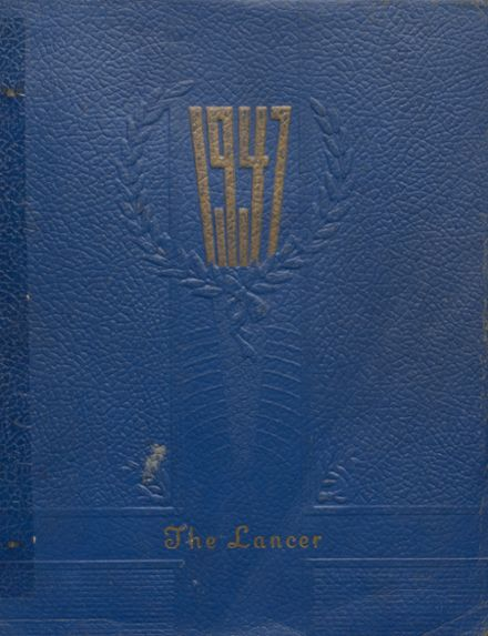 1947 Canby High School Yearbook Cover