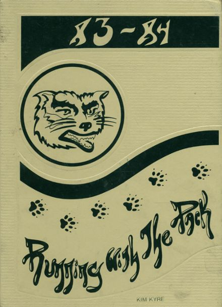 1984 Father Wehrle High School Yearbook Cover