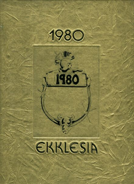 1980 Greece Athena High School Yearbook Cover