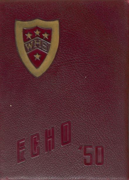 1950 Wythe High School Yearbook Cover