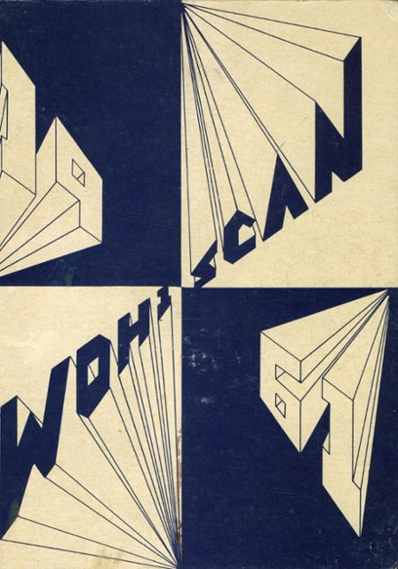 1961 Woodburn High School Yearbook Cover
