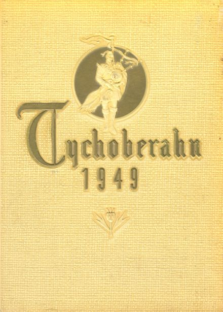 1949 Madison Central High School Yearbook Cover