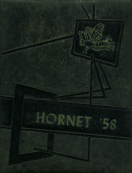 1958 Pickton High School Yearbook Page 1