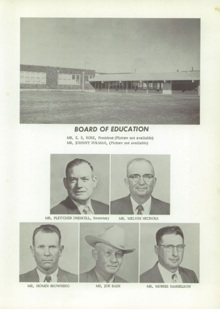 1958 Pickton High School Yearbook Page 7