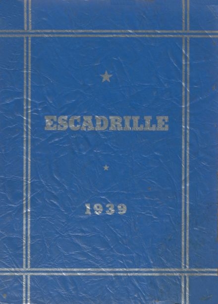 1939 Macon County High School Yearbook Cover