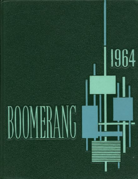 1964 Holland High School Yearbook Cover