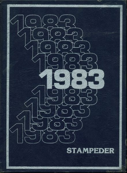 1983 Midland Christian School Yearbook Cover