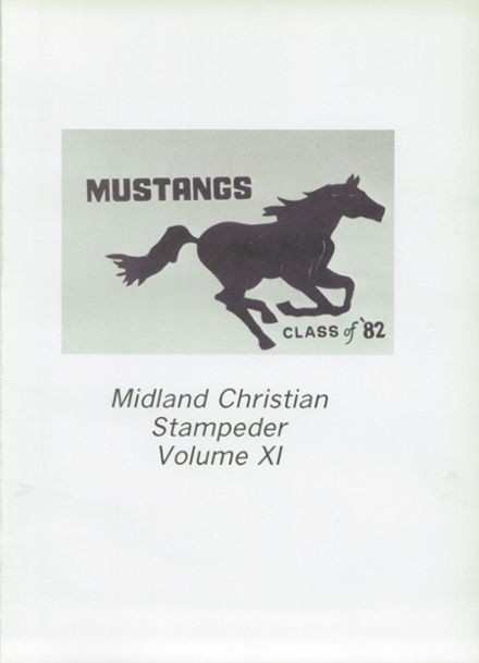 1983 Midland Christian School Yearbook Page 5