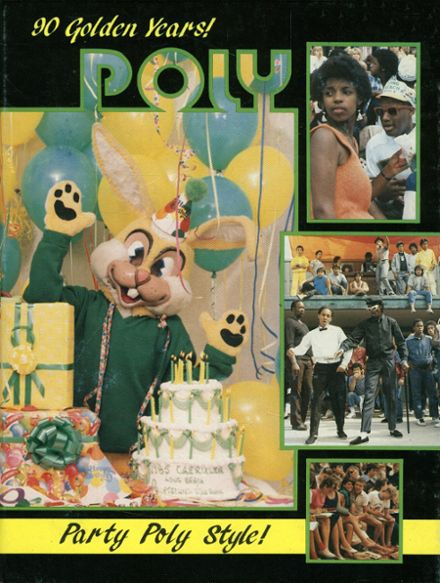 1985 Long Beach Polytechnic High School Yearbook Cover