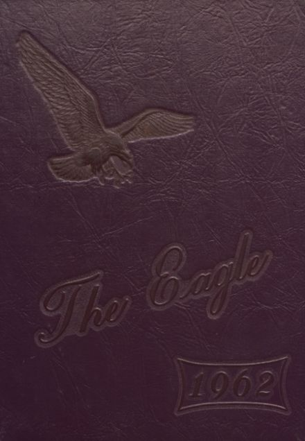 1962 Campbellsville High School Yearbook Cover