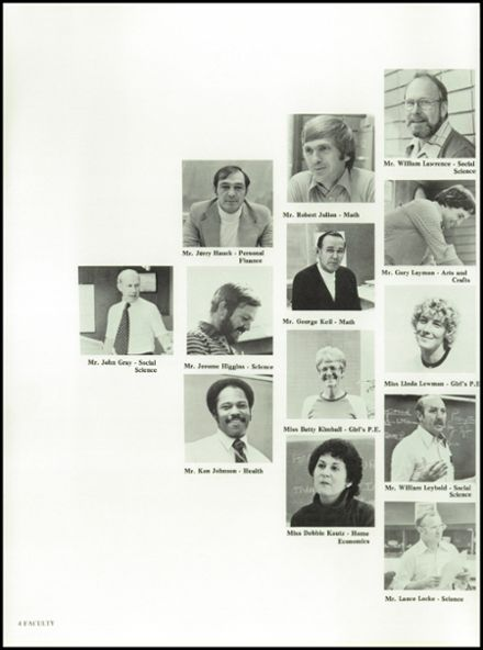 1980 Ashland High School Yearbook Page 8