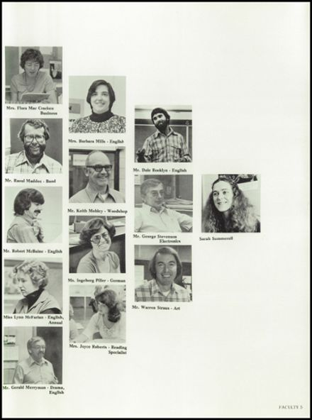 1980 Ashland High School Yearbook Page 9