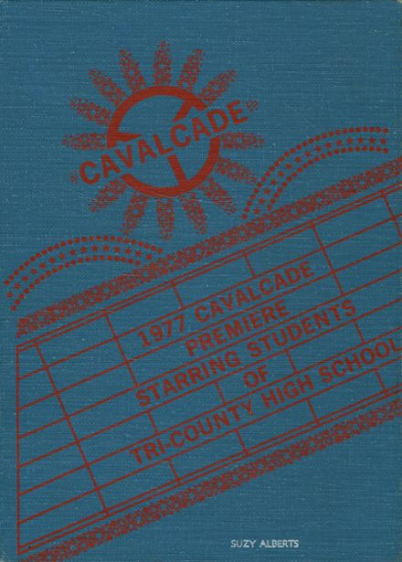 1977 Tri-County High School Yearbook Cover