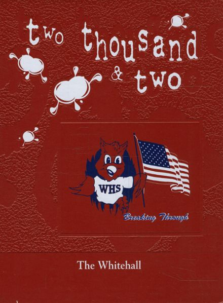 2002 Whitehall High School Yearbook Cover