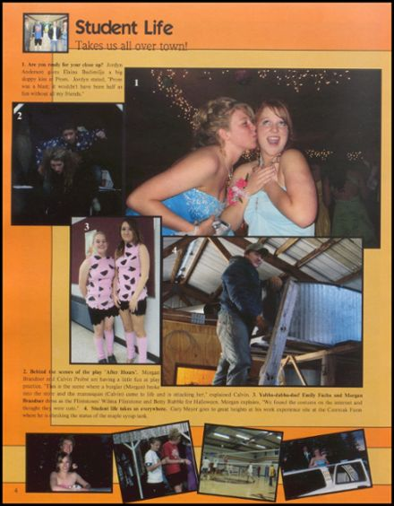 2009 Rib Lake High School Yearbook Page 8