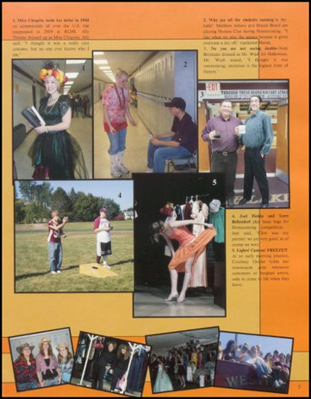 2009 Rib Lake High School Yearbook Page 9