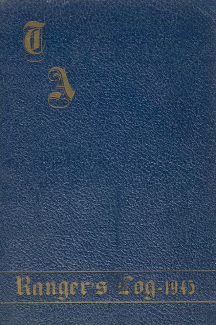 1945 Traip Academy Yearbook Cover