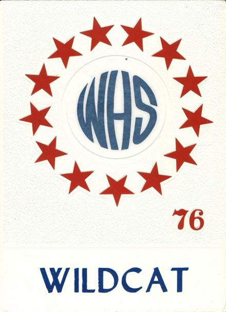 1976 Whitehouse High School Yearbook Cover