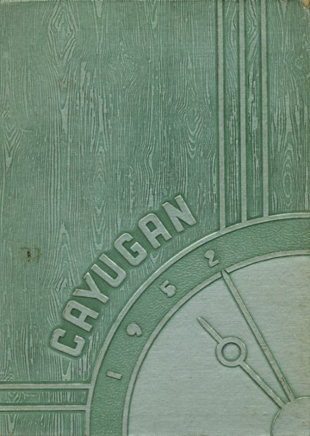 1952 Lancaster High School Yearbook Cover