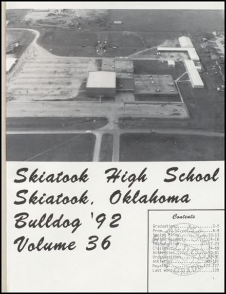 1992 Skiatook High School Yearbook Page 5