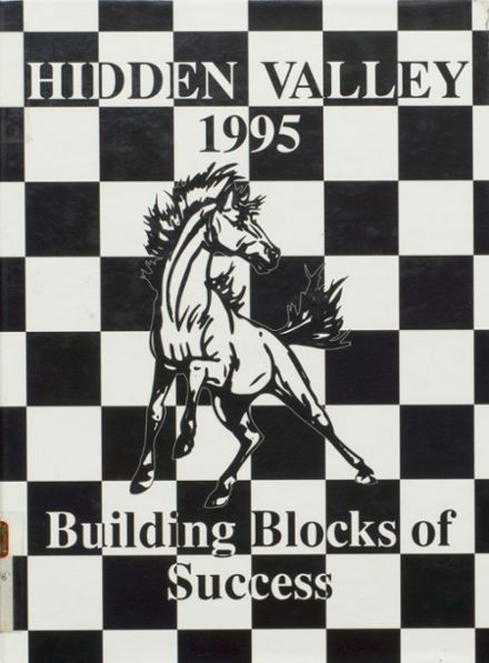 1995 Hidden Valley High School Yearbook Cover