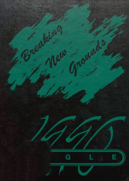 1990 Stratton High School Yearbook Cover
