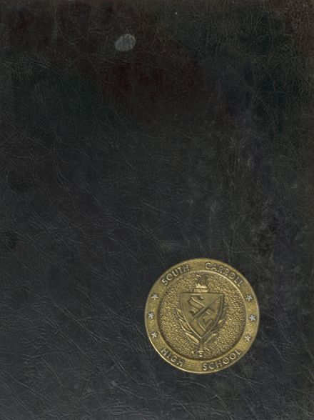 1977 South Carroll High School Yearbook Cover