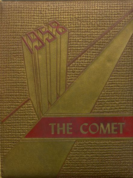 1958 Carlisle County High School Yearbook Cover