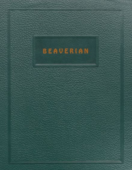 1944 Beaver River Central High School Yearbook Cover