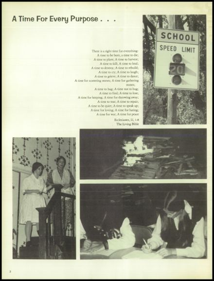 1974 North Central High School Yearbook Page 6